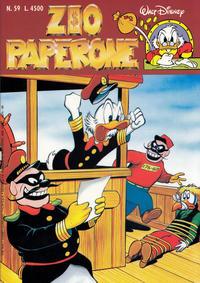 Cover Thumbnail for Zio Paperone (Disney Italia, 1990 series) #59