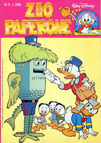 Cover Thumbnail for Zio Paperone (Disney Italia, 1990 series) #21