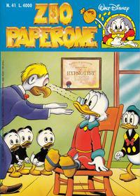 Cover Thumbnail for Zio Paperone (Disney Italia, 1990 series) #41