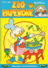 Cover Thumbnail for Zio Paperone (The Walt Disney Company Italia, 1990 series) #20