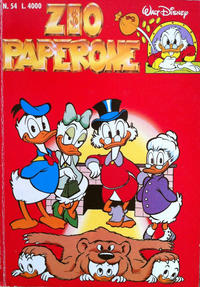 Cover Thumbnail for Zio Paperone (The Walt Disney Company Italia, 1990 series) #54