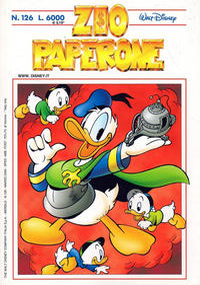 Cover Thumbnail for Zio Paperone (The Walt Disney Company Italia, 1990 series) #126