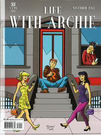 Cover Thumbnail for Life with Archie (Archie, 2010 series) #32 [Dean Haspiel Cover]