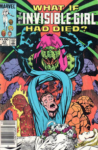 Cover Thumbnail for What If? (Marvel, 1977 series) #42 [Newsstand]