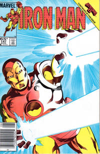 Cover Thumbnail for Iron Man (Marvel, 1968 series) #197 [Newsstand Edition]