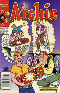 Cover Thumbnail for Archie (Archie, 1959 series) #472 [Newsstand]