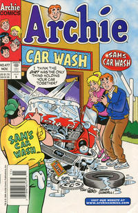Cover Thumbnail for Archie (Archie, 1959 series) #477 [Newsstand]