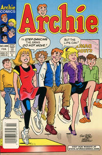 Cover Thumbnail for Archie (Archie, 1959 series) #468 [Newsstand]