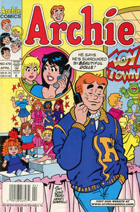 Cover Thumbnail for Archie (Archie, 1959 series) #470 [Newsstand]