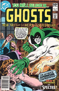 Cover for Ghosts (DC, 1971 series) #97 [Direct Sales]