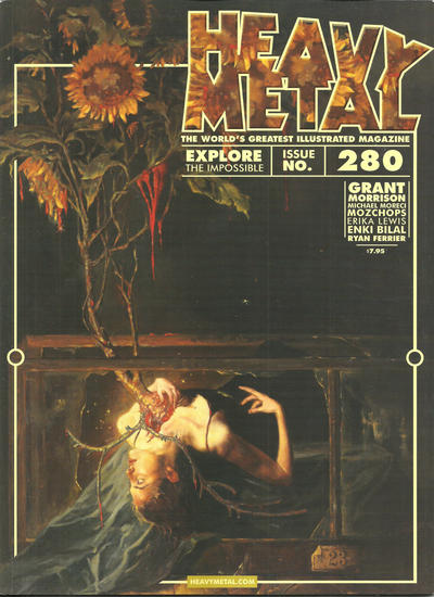 Cover for Heavy Metal Magazine (Heavy Metal, 1977 series) #280 [Prophets of the Ghost Ants]