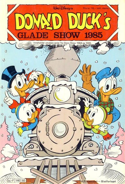 Cover for Donald Ducks Show (Hjemmet / Egmont, 1957 series) #[47] - Glade show 1985