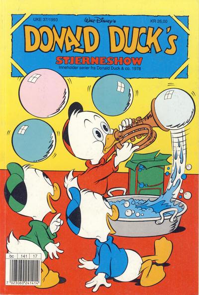 Cover for Donald Ducks Show (Hjemmet / Egmont, 1957 series) #[80] - Stjerneshow 1993