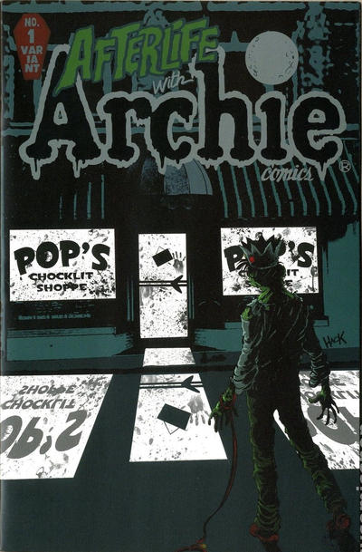 Cover for Afterlife with Archie (Archie, 2013 series) #1 [Another Dimension Comics Store Variant]