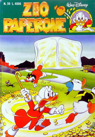 Cover for Zio Paperone (The Walt Disney Company Italia, 1990 series) #50