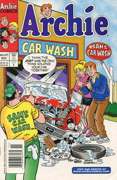 Cover for Archie (Archie, 1959 series) #477 [Newsstand]