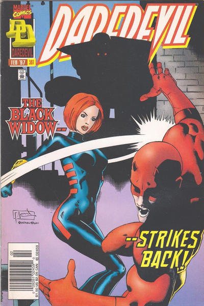 Cover for Daredevil (Marvel, 1964 series) #361 [Direct Edition]