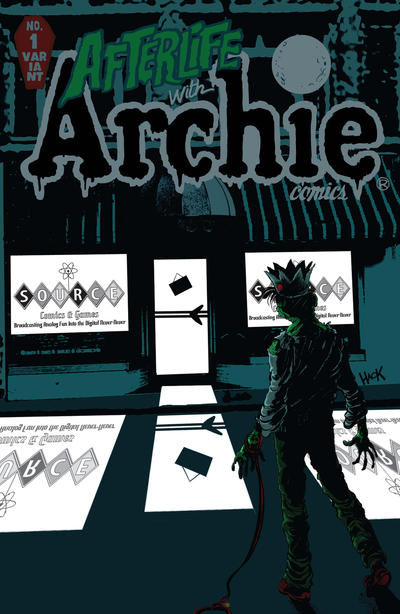 Cover for Afterlife with Archie (Archie, 2013 series) #1 [Dewey's Comic City Store Variant]