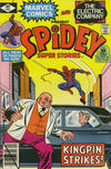 Cover for Spidey Super Stories (Marvel, 1974 series) #42 [Direct]