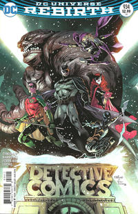 Cover Thumbnail for Detective Comics (DC, 2011 series) #934
