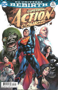 Cover Thumbnail for Action Comics (DC, 2011 series) #957 [Ivan Reis Cover Variant]