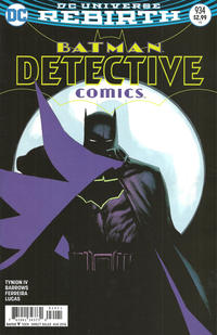 Cover Thumbnail for Detective Comics (DC, 2011 series) #934 [Rafael Albuquerque Cover]