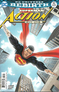Cover Thumbnail for Action Comics (DC, 2011 series) #957 [Ryan Sook Cover Variant]