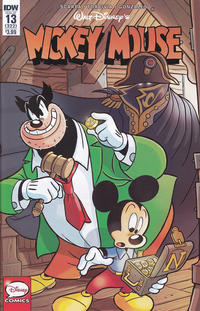 Cover Thumbnail for Mickey Mouse (IDW, 2015 series) #13 / 322 [Regular Cover]