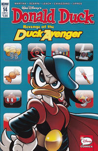 Cover Thumbnail for Donald Duck (IDW, 2015 series) #14 / 381 [Regular Cover]