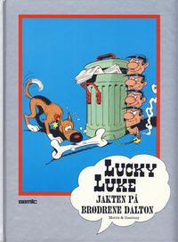 Cover Thumbnail for Lucky Luke [Seriesamlerklubben] (Semic, 1986 series) #[7] - Jakten på brødrene Dalton