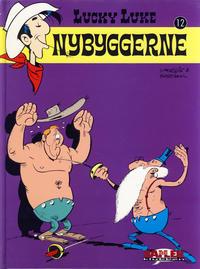 Cover Thumbnail for Lucky Luke [Seriesamlerklubben] (Hjemmet / Egmont, 1998 series) #12 - Nybyggerne