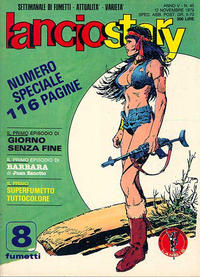 Cover Thumbnail for Lanciostory (Eura Editoriale, 1975 series) #v5#45