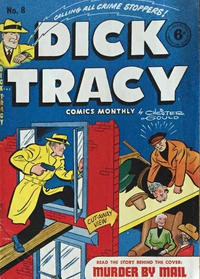 Cover Thumbnail for Dick Tracy (Streamline, 1953 series) #8