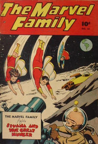 Cover Thumbnail for The Marvel Family (Anglo-American Publishing Company Limited, 1948 series) #31