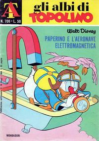 Cover Thumbnail for Albi di Topolino (Arnoldo Mondadori Editore, 1967 series) #706