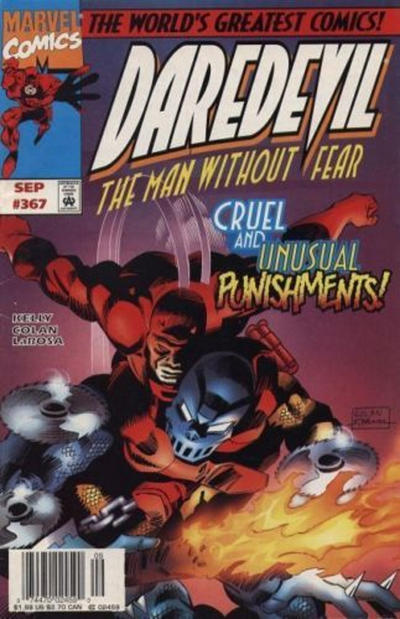 Cover for Daredevil (Marvel, 1964 series) #367 [Direct Edition]
