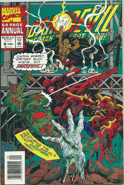 Cover for Daredevil Annual (Marvel, 1967 series) #9 [Direct Edition]