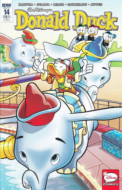 Cover for Donald Duck (IDW, 2015 series) #14 / 381 [Regular Cover]