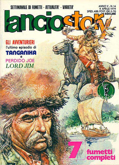 Cover for Lanciostory (Eura Editoriale, 1975 series) #v5#14