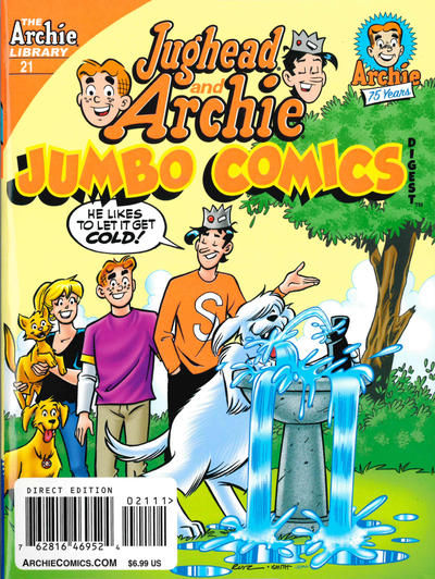 Cover for Jughead and Archie Double Digest (Archie, 2014 series) #21