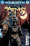 Cover for Batman (DC, 2016 series) #1 [David Finch Cover]