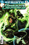 Cover for Green Lanterns (DC, 2016 series) #1 [Emanuela Lupacchino Cover]