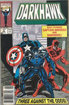Cover for Darkhawk (Marvel, 1991 series) #6 [Newsstand]