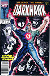 Cover for Darkhawk (Marvel, 1991 series) #10 [Newsstand]