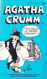 Cover Thumbnail for Agatha Crumm: Too Much Is Never Enough (New American Library, 1982 series) #11844 [3]