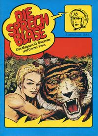 Cover Thumbnail for Die Sprechblase (Norbert Hethke Verlag, 1978 series) #28