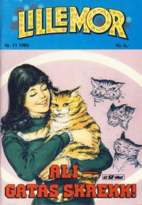 Cover Thumbnail for Lillemor (Serieforlaget / Se-Bladene / Stabenfeldt, 1969 series) #11/1985