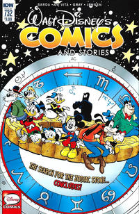 Cover Thumbnail for Walt Disney's Comics and Stories (IDW, 2015 series) #732