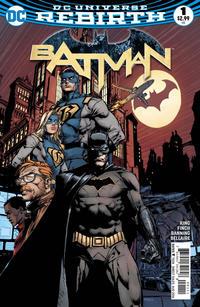 Cover Thumbnail for Batman (DC, 2016 series) #1 [David Finch Cover]