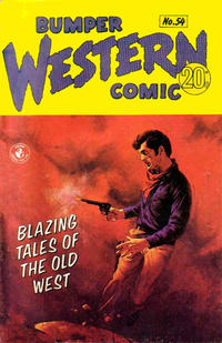 Cover Thumbnail for Bumper Western Comic (K. G. Murray, 1959 series) #54